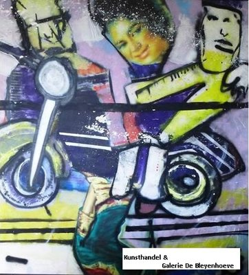 Herman Brood - On the Road - van €22.500 nu voor € 12.500,-