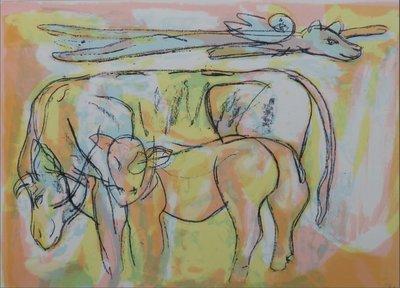 Anton Vrede - Buffalo Springfield - ingelijst