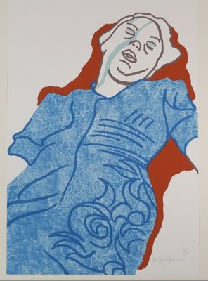 Schilderijen en zeefdrukken van kunstenaar Ad Gerritsen te