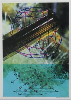 Michiel Schierbeek - Crystals 10 - ingelijst