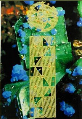 Michiel Schierbeek - Crystals 15 - ingelijst