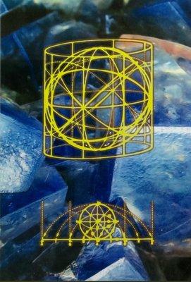 Michiel Schierbeek - Crystals 6 - ingelijst