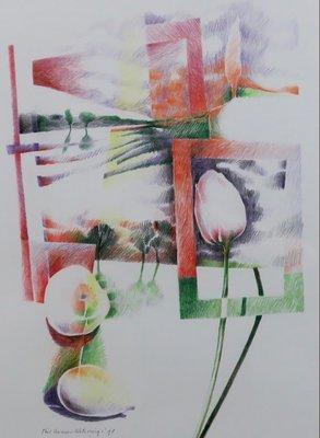 Phil Vermeer-Weterings - zonder titel - ingelijst