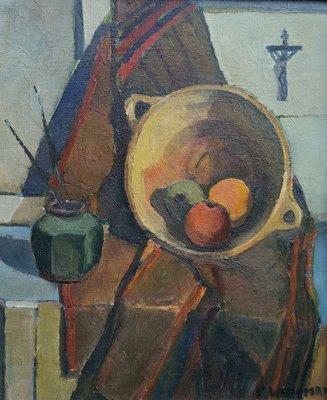 Piet Wiegman II - Bowl of Fruit - ingelijst