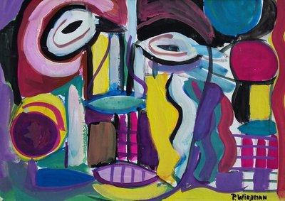 Piet Wiegman II - Scream - ingelijst