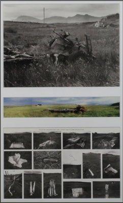 Ronald van Schaik - zonder titel, drieluik, foto - ingelijst