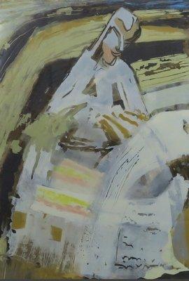 Xandra Donders - Pyramidevrouw - ingelijst