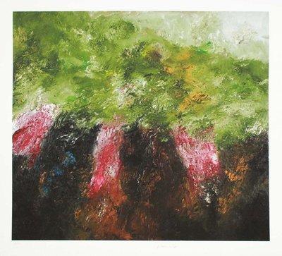 Armando - Edge of the Forest - Giclee op zwaar, handgemaakt katoenen papier - 56x61cm