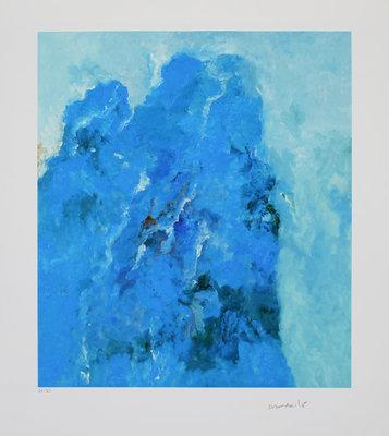 Armando - The Mountain - Giclee op zwaar, handgemaakt katoenen papier - 61 x 53,5 cm