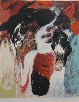 Bert Braam - Admira - 106 x 87,5 cm - Zeefdruk op papier - ingelijst