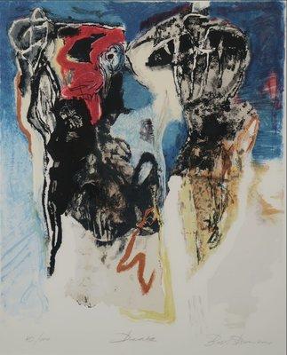 Bert Braam - Desira - 105,5 x 87,5 cm - Zeefdruk op papier - ingelijst