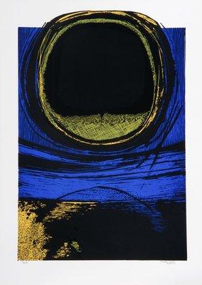 Maurice Haccuria - zonder titel - 50 x 70 cm - zeefdruk op papier
