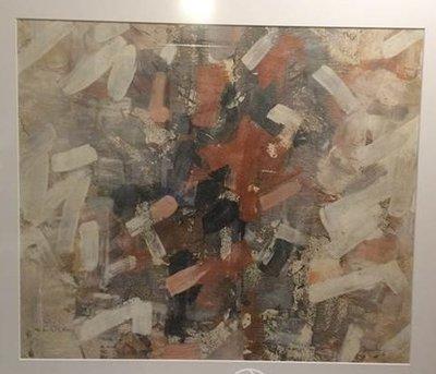 Jan van Heel - zonder titel - 82 x 91 cm - Gouache - ingelijst
