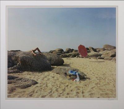 Jean Ruiter - Drama near Sile  - 78 x 83 cm - foto op fotopapier - ingelijst