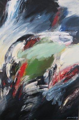 Peter Meijer - Suzholl - 142 x 97,5 cm - Olieverf op doek - ingelijst