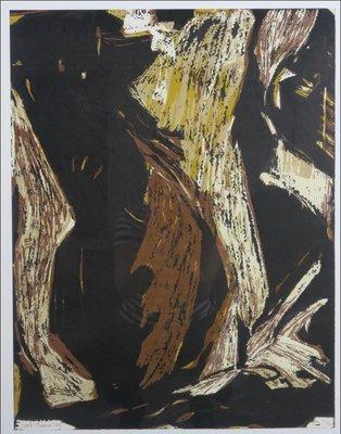 Marli Turion - zonder titel - 81 x 61 cm - Hoogdruk op papier - aluminium ingelijst