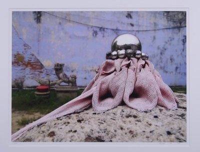 Mark Verdoes - Zilver Hart - 78 x 93 cm - Fotoprint op papier - ingelijst