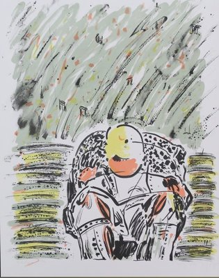 Marijke Verhoef - Zonder titel - 66 x 51,5 cm - Litho op papier