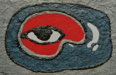 Henri Titselaar - Egyptisch - 48 x 67 cm - Kunststof/caparol op hout