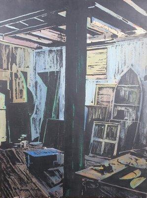 Helmuth van Galen - 84 x 64 cm - Olieverf op doek - in houten lijst