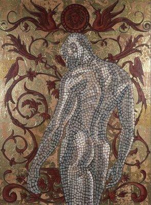 Valentin Bakardjiev - ZT VII - 100 x 75 cm - Olieverf op doek