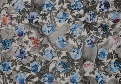 Arjen van Arendonk - Copy Copy - 83 x 113 cm - Zeefdruk en collage op papier - ingelijst