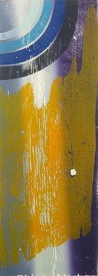 Joris Geurts - zonder titel II - 83 x 43 cm - Houtsnede op papier - in houten lijst
