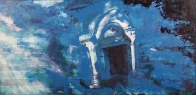 Carolina Paulussen - 80 x 160 - acryl op doek - op spieraam met ophangsysteem