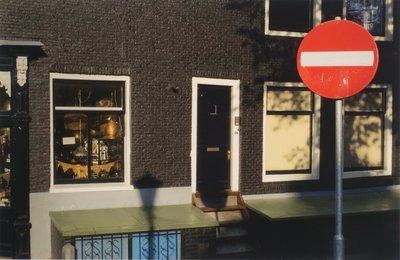 Mark Verdoes - Seinlicht - 78 x 103 cm - Fotoprint op papier - in zwarte houten lijst