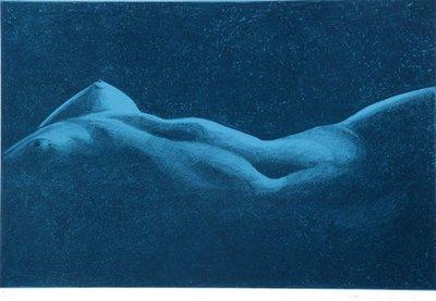 Paul Verbeeck - zonder titel - 50 x 70 cm - zeefdruk op papier