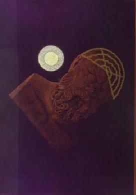 Titus Nolte - Socrates, Plato was helaas ziek!  - 70 x 100 cm - Zeefdruk op papier