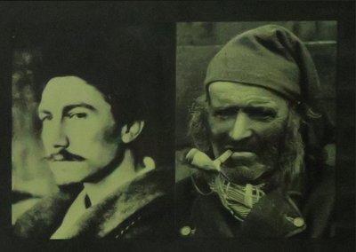 Titus Nolte - Le diable c'est le pense - 89 x 104 cm - Foto op fotopapier - in houten lijst