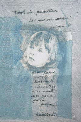 Maurice Rousseau Leurent - Zonder titel - 55 x 45 cm - Carborundum ets op papier