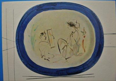 Pablo Picasso - uit Ceramiques de Picasso - 27,5 x 37,5 cm