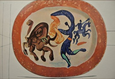 Pablo Picasso - uit Ceramiques de Picasso I - 27,5 x 37,5 cm