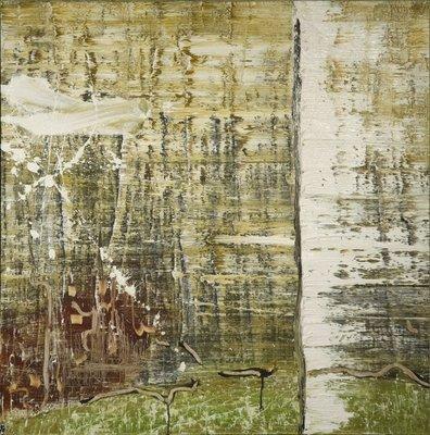 Leo Jacobs - zonder titel - 111 x 111 cm - Olieverf op doek