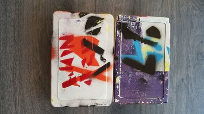 Herman Brood - Broodtrommel - 21,5 x 14 x 5 cm