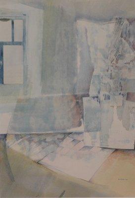 Ruud van der Beele - zonder titel - Aquarel op papier - 47 x 32 cm
