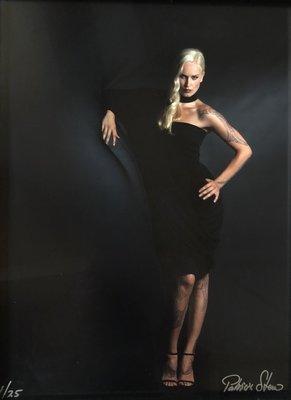 Patricia Steur - Modefotografie - 45 x 33  cm - kleurenfoto (vintage print) - luxe ingelijst