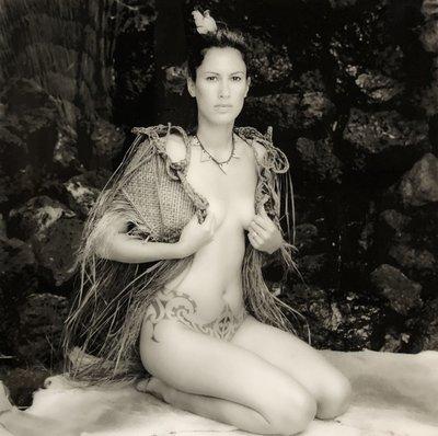 Patricia Steur - Jada - 60 x 60 cm - zwart wit foto (vintage print) - in diasec