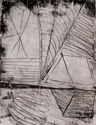 Cees Dolk - Piropo -  77 x 60 cm - Zeefdruk op papier