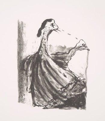 Gerard Leonard van den Eerenbeemt - Zonder titel - 66 x 51 cm - Litho op papier