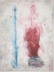 Ad Arma - Energiebron - Ets op papier - 106 x 78 cm