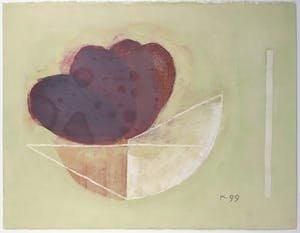 Aafke Kelly - Melancholy - 83 x 103 cm - Olieverf op papier - ingelijst