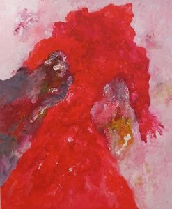 Armando - Abstractie in rood (personage)