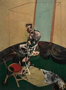 Francis Bacon - Portrait of George Dyer Staring at Blind Cord, 1966