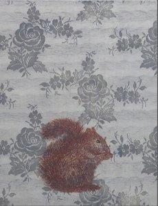 Judith Rosema - Kanten Eekhoorn - ets op papier - 78 x 63 cm