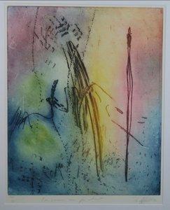 Ad Arma - De vrouw van je hart - 110x90,5cm - Ets op papier