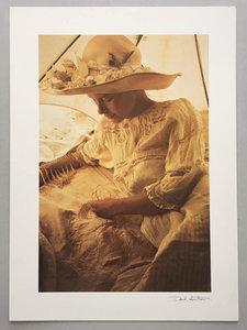 David Hamilton - offset foto II uit Filles Fleurs - 40 x 29,2 cm - offset foto op papier