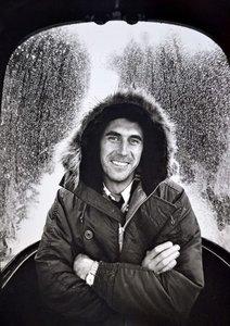 Brian Aris - Brian Ferry - z/w foto - 26,8 x 37,4 cm